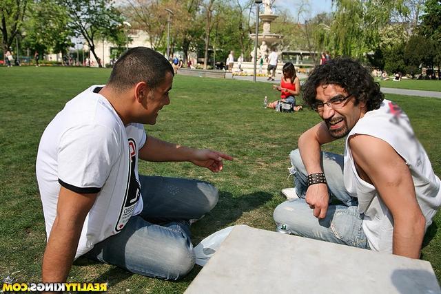 Познакомились в парке